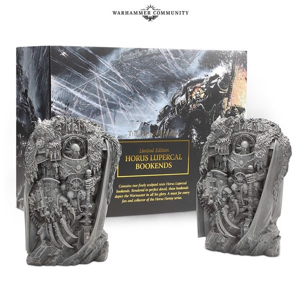 BLACK LIBRARY HORUS HERESY BOOK ENDS