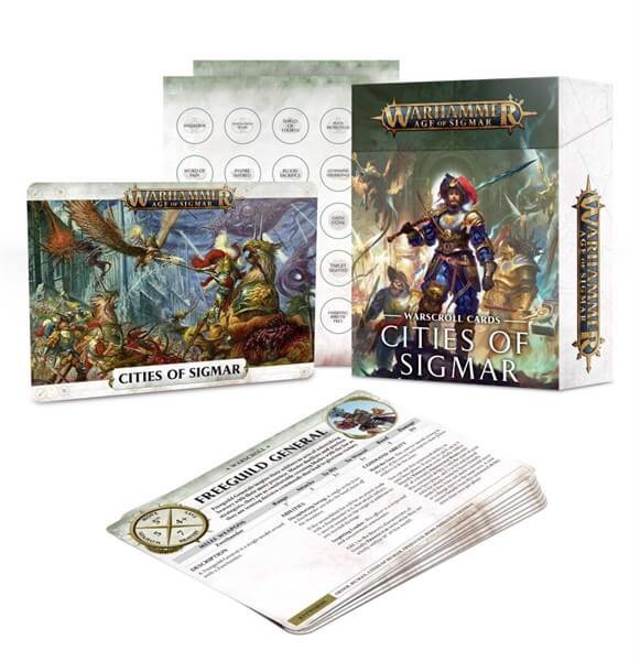 WARSCROLL CARDS: CITIES OF SIGMAR (ENG)