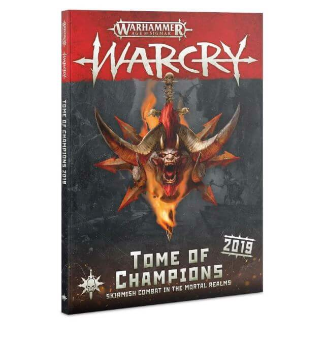 WARCRY: TOME OF CHAMPIONS 2019 (ENGLISH)