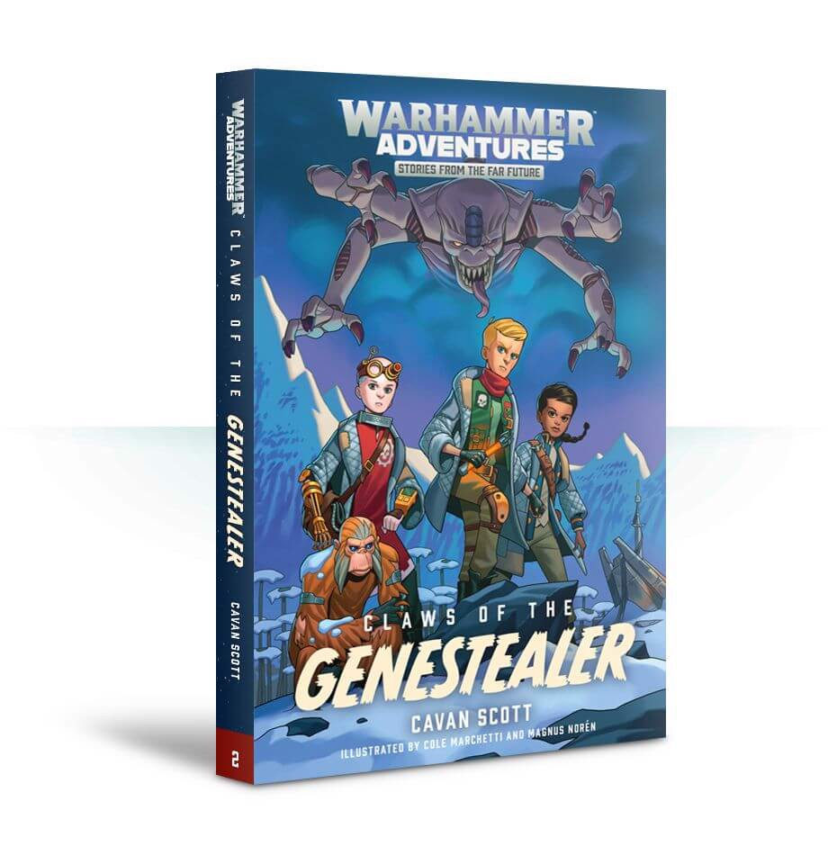 W/GALAXIES:CLAWS OF THE GENESTEALER (PB)