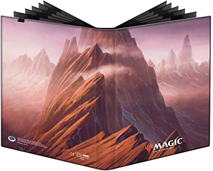 ULTRA PRO: MAGIC THE GATHERING PRO-BINDER - 9 POCKET - UNSTABLE LANDS - MOUNTAIN