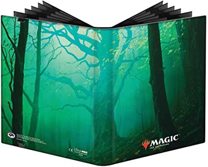 ULTRA PRO: MAGIC THE GATHERING PRO-BINDER - 9 POCKET - UNSTABLE LANDS - FOREST
