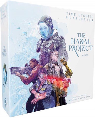 TIME STORIES: THE HADAL PROJECT (BOARD GAME)