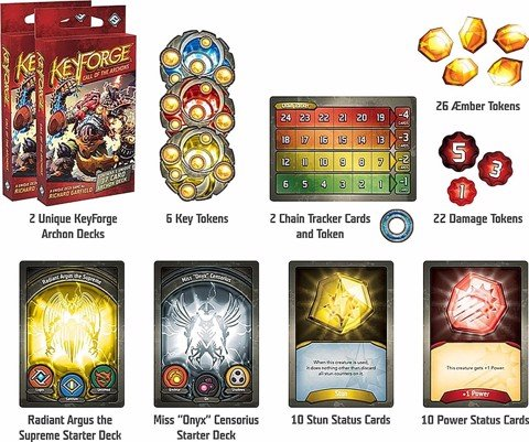 KEYFORGE: CALL OF THE ARCHONS STARTER SET (BOARD GAME)