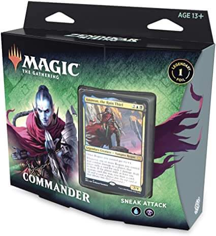 MAGIC THE GATHERING: ZENDIKAR RISING: COMMANDER DECK (SNEAK ATTACK)