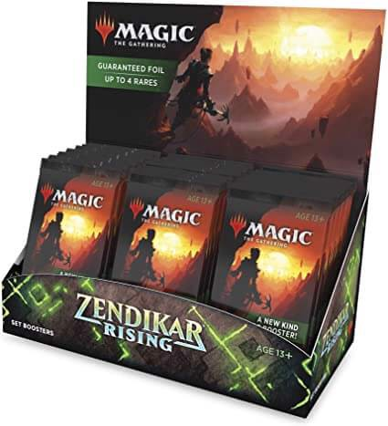 MAGIC THE GATHERING: ZENDIKAR RISING: SET BOOSTER