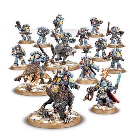 START COLLECTING! SPACE WOLVES (EXCLUSIVE)