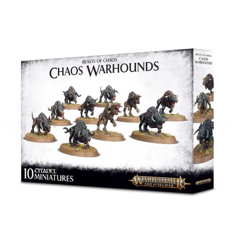 MONSTERS OF CHAOS: CHAOS WARHOUNDS (EXCLUSIVE)