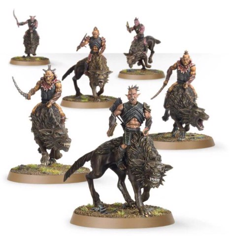 HUNTER ORCS ON FELL WARGS™ (EXCLUSIVE)