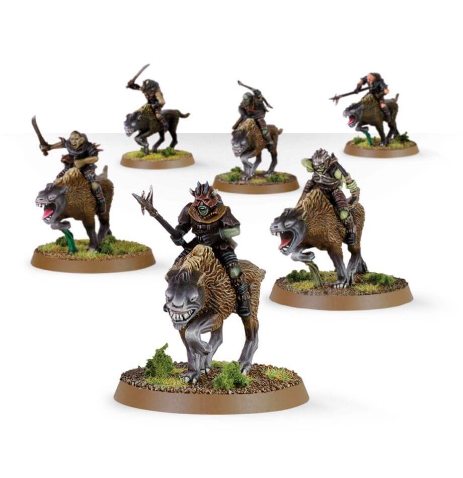 THE LORD OF THE RINGS: WARG RIDERS