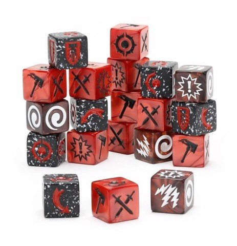 WHU: GRAND ALLIANCE CHAOS DICE PACK