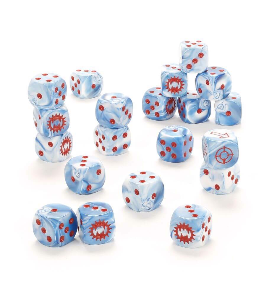 THE HORUS HERESY LEGION DICE: WORLD EATERS (FORGEWORLD)