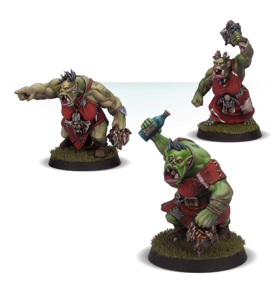 THE WAAAGHS! ORC CHEERLEADING SQUAD (FORGE WORLD)