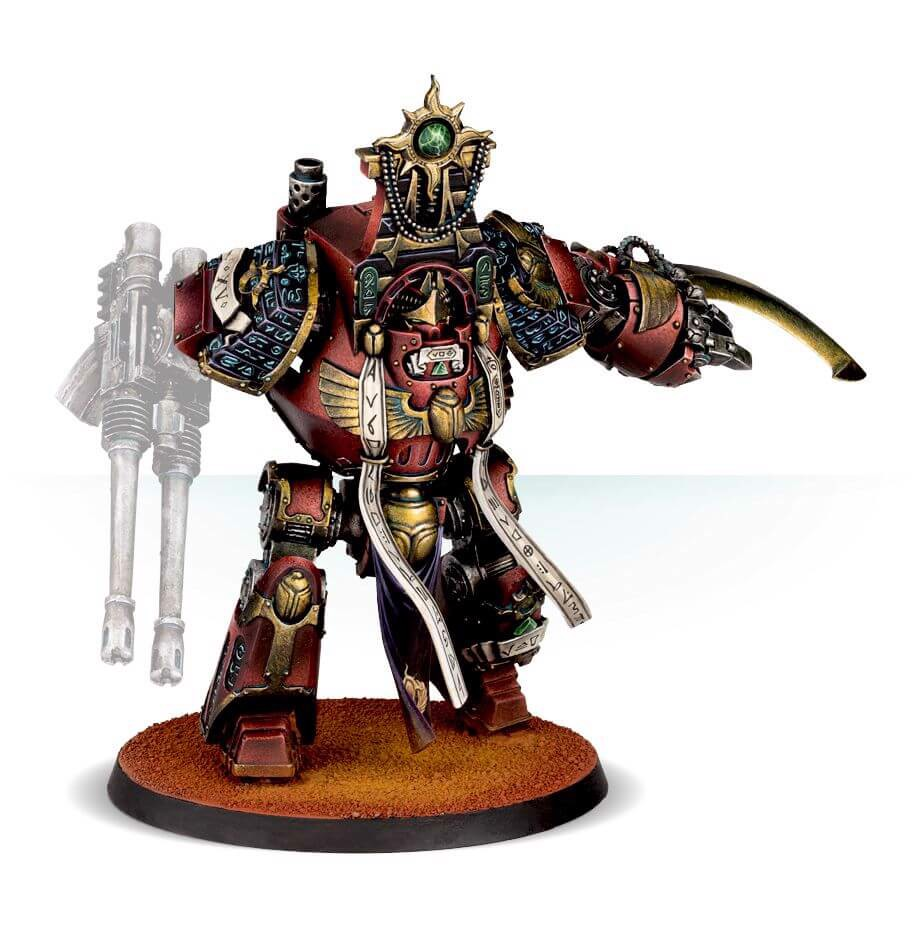THOUSAND SONS LEGION OSIRON PATTERN CONTEMPTOR DREADNOUGHT (FORGEWORLD)
