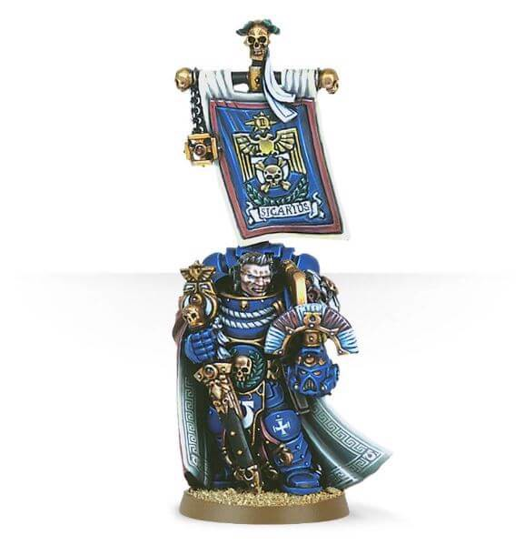 ULTRAMARINES CAPTAIN SICARIUS (EXCLUSIVE)