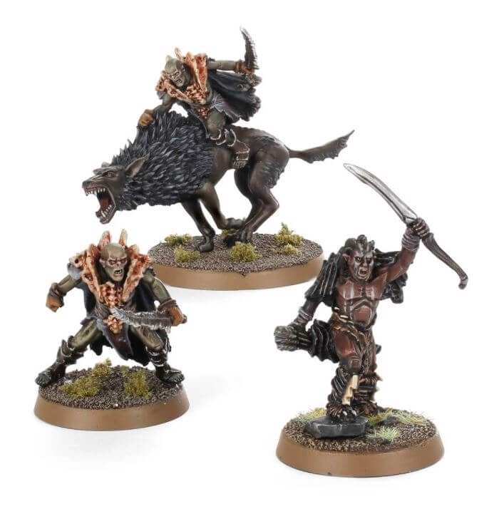 NARZUG AND FIMBUL, HUNTER ORC CAPTAINS (EXCLUSIVE)