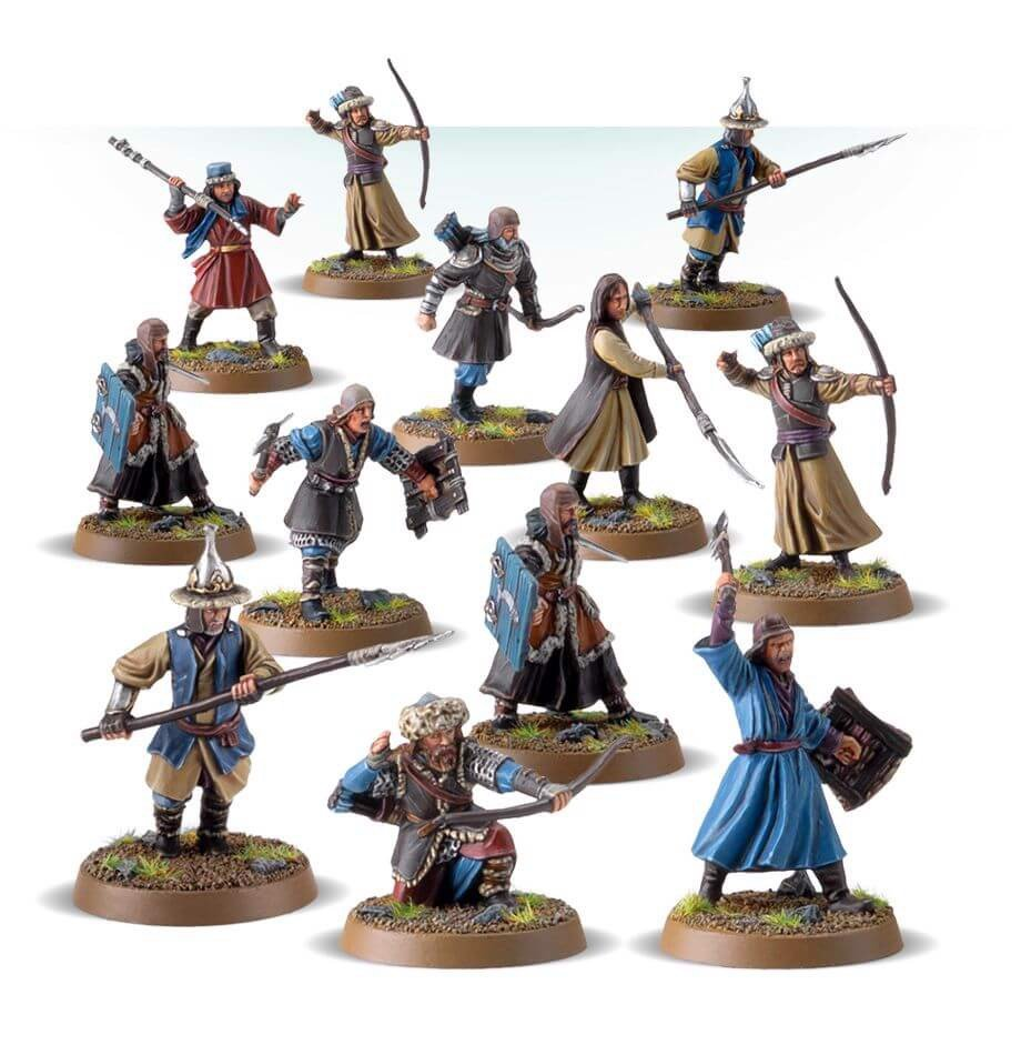 LAKE-TOWN MILITIA WARBAND (EXCLUSIVE)