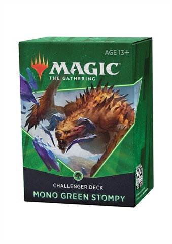 Challenger Deck 2021 - Mono Green Stompy