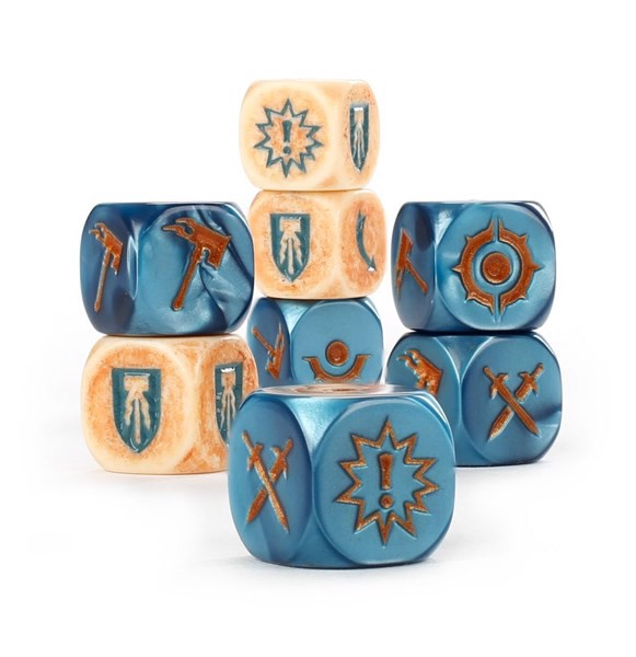 WHU: HROTHGORN'S MANTRAPPERS DICE SET