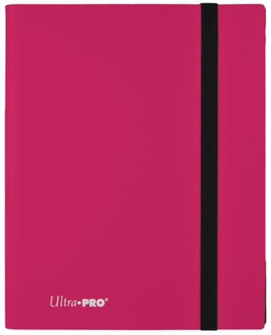 ULTRA PRO: ECLIPSE PRO-BINDER 9-POCKET: HOT PINK
