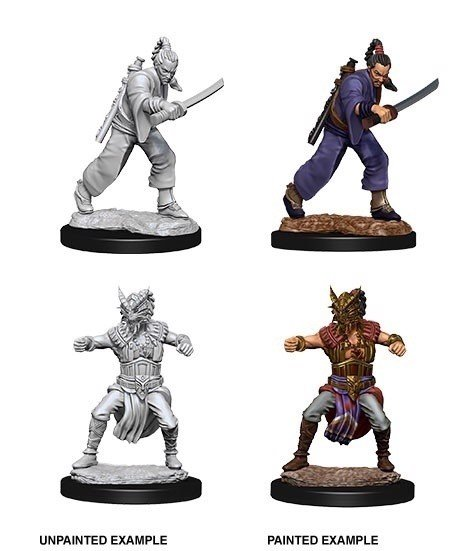 DUNGEONS AND DRAGONS: NOLZUR'S MARVELOUS UNPAINTED MINIATURES -W8-MALE HUMAN MONK