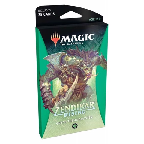 MAGIC THE GATHERING: ZENDIKAR RISING: THEME BOOSTER - GREEN