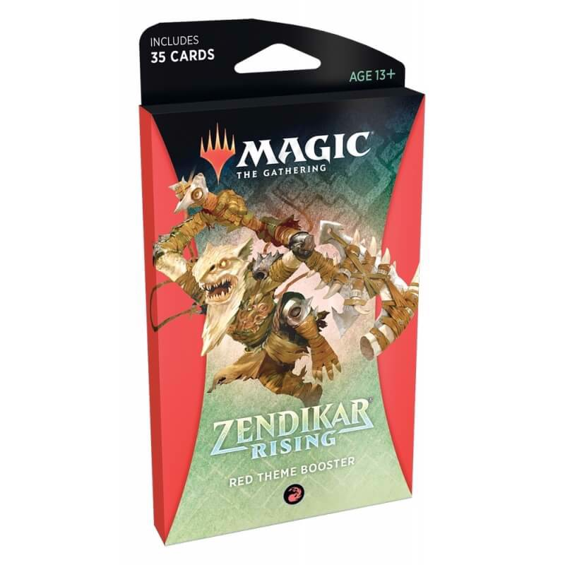 MAGIC THE GATHERING: ZENDIKAR RISING: THEME BOOSTER - RED
