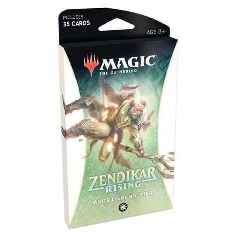 MAGIC THE GATHERING: ZENDIKAR RISING: THEME BOOSTER - WHITE