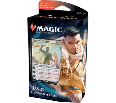 MAGIC THE GATHERING: CORE 2021 PLANESWALKER DECK BASRI