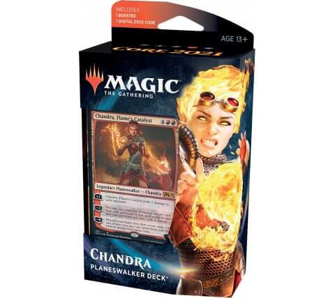 MAGIC THE GATHERING: CORE 2021 PLANESWALKER DECK CHANDRA