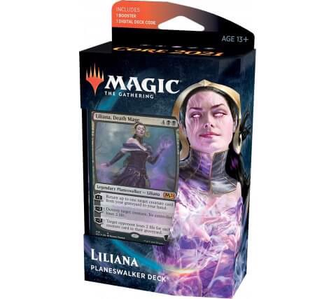 MAGIC THE GATHERING: CORE 2021 PLANESWALKER DECK LILIANA