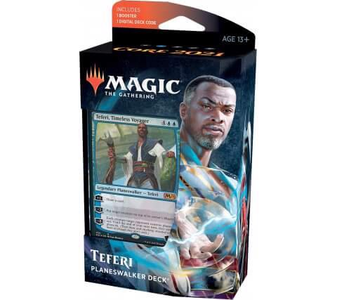MAGIC THE GATHERING: CORE 2021 PLANESWALKER DECK TEFERI