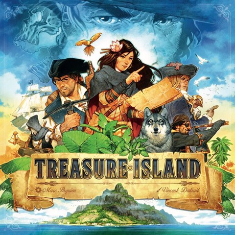 TREASURE ISLAND (BOARD GAME)