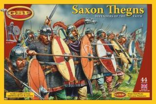 DARK AGES: SAXON THEGNS PLASTIC BOXED SET