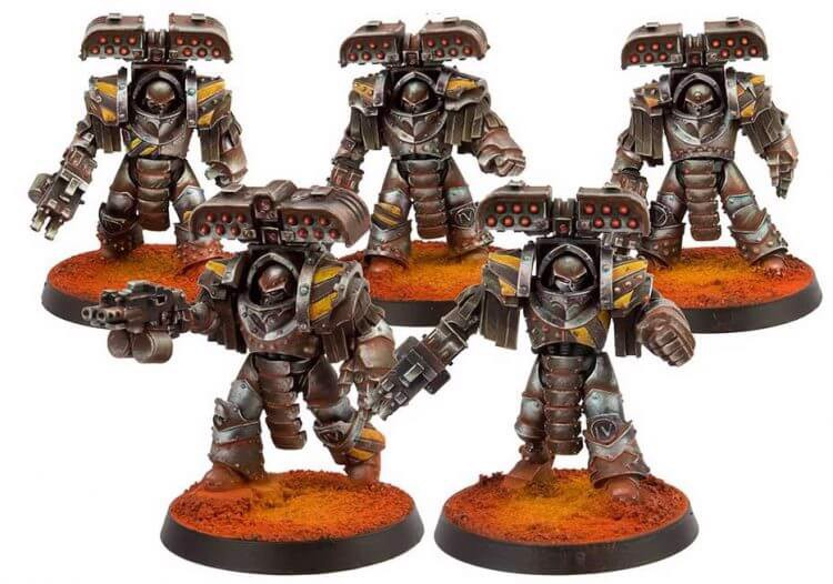 IRON WARRIORS LEGION TYRANT SIEGE TERMINATORS (FORGEWORLD)