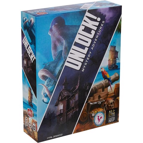 Unlock! Mystery Adventures (BOARD GAME)