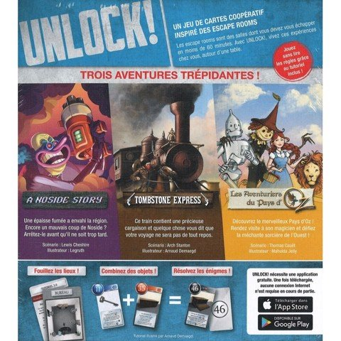 Unlock! Secret Adventures (BOARD GAME)