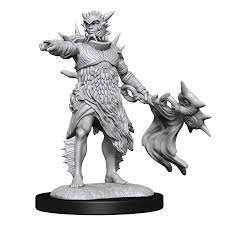 MAGIC THE GATHERING UNPAINTED MINIATURES: W13 CORALHELM COMMANDER AND HALIMAR WAVEWATCH MERFOLK