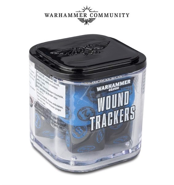 WARHAMMER 40000: WOUND TRACKERS (6-PACK)