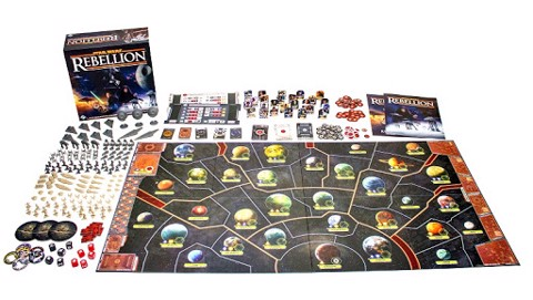 STAR WARS: REBELLION (BOARD GAME)