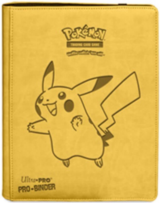 ULTRA PRO: POKEMON PRO-BINDER - 9-POCKET PIKACHU 84570