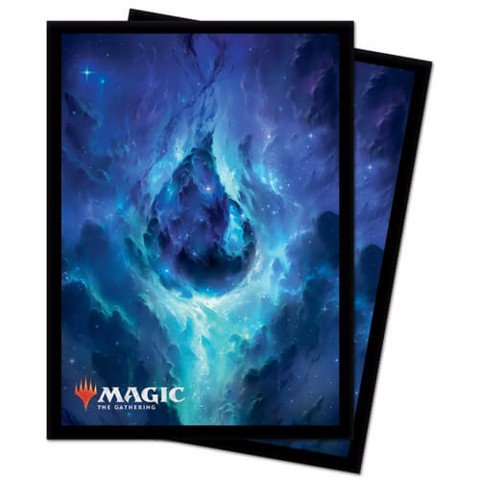 ULTRA PRO: MAGIC THE GATHERING DECK PROTECTOR - CELESTIAL LANDS - ISLAND (100CT)