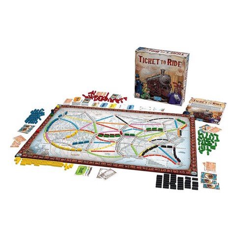 Ticket to Ride - 15th Anniversary Edition (BOARD GAME)