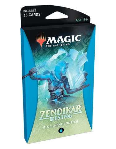 MAGIC THE GATHERING: ZENDIKAR RISING: THEME BOOSTER - BLUE