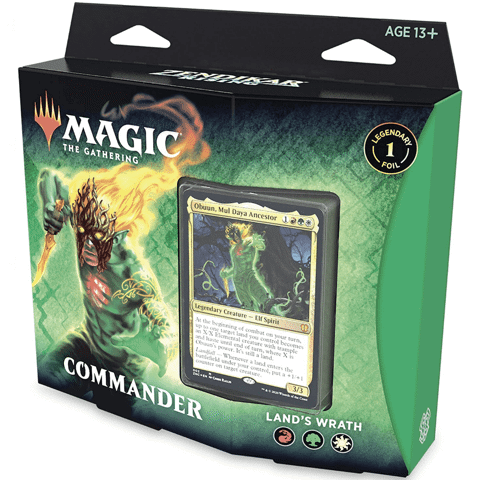 MAGIC THE GATHERING: ZENDIKAR RISING: COMMANDER DECK (LAND WRATH)