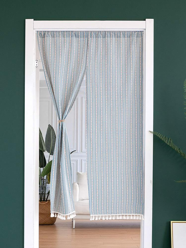 Two-piece Japanese-style curtain