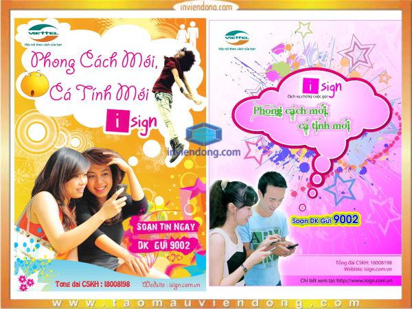 in poster lay nhanh