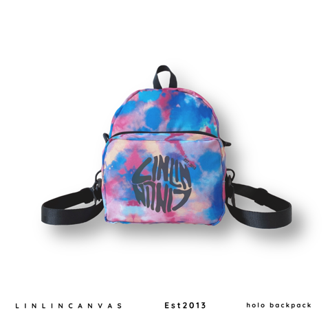Holo Backpack - tiedye
