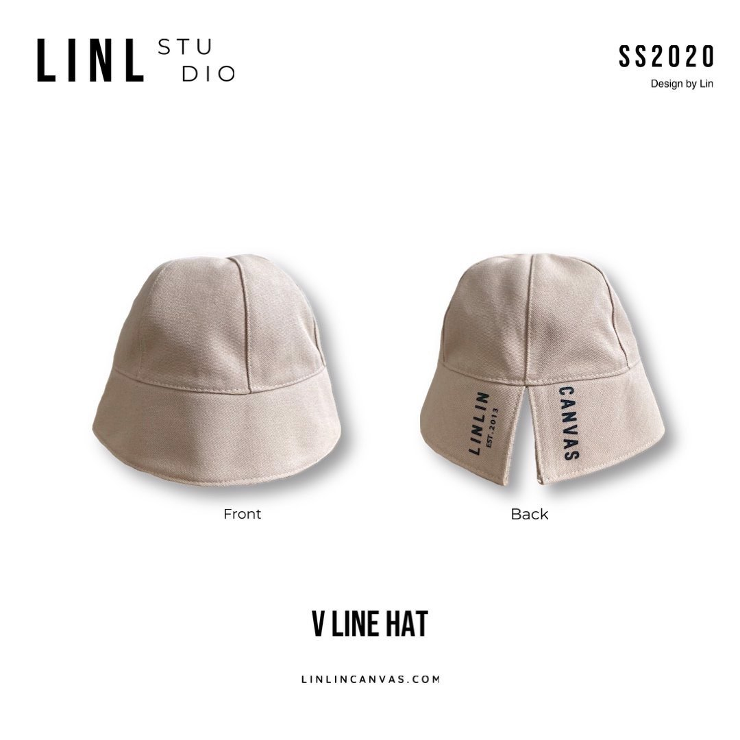 VLine flash hat - cream