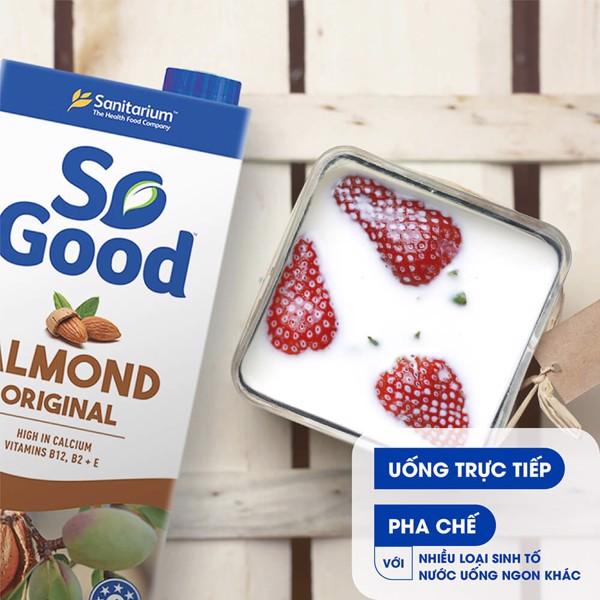 Sữa hạnh nhân SO GOOD 1lít
